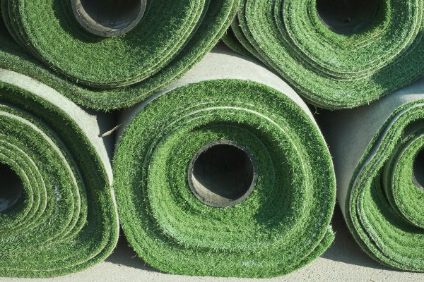 Rolls of Artificial Grass for Athletic Field