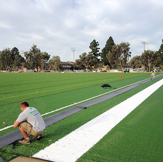 TURF PREP AND INSTALLATION